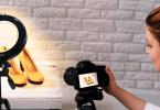 Meilleure ring light pour vidéos Youtube