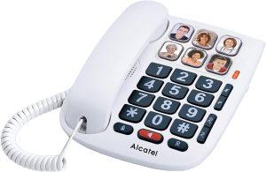 téléphone fixe pour personne âgée
